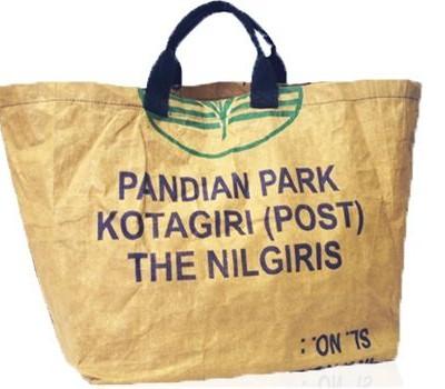 Ragbag fairtrade boodschappentas extra groot