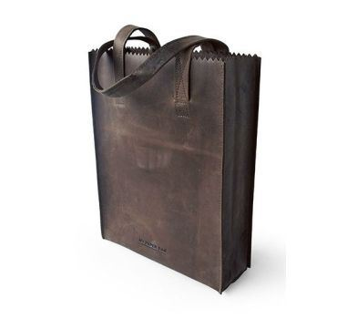 paper bag long handle chocolate