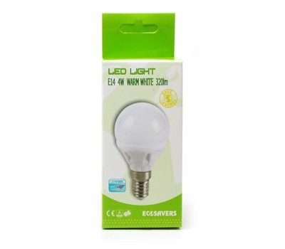 Ledlamp Miniglobe - kleine fitting - 320 lumen