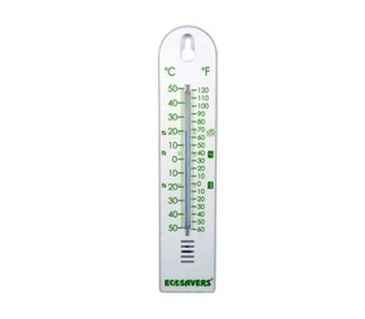 Thermometer - Energiebesparing