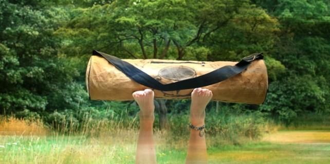 Ragbag yogatas - fairtrade en gemaakt van hergebruikt materiaal 2