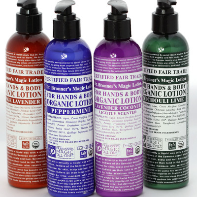 Dr-Bronners biologische lotion