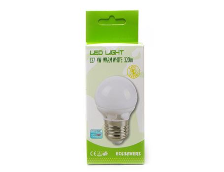 Ledlamp Miniglobe - grote fitting - 320 lumen
