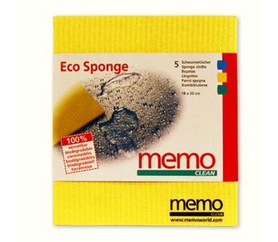 eco spons schoonmaakdoekjes memo