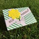 EcoKadobon met gratis bloemenzaadjespapier