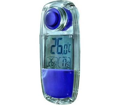 raamthermometer op zonne-energie